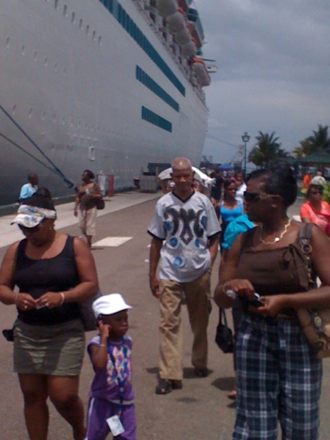 Bahamas Cruise Arrival in Nassau