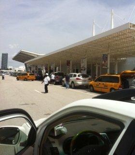 Arriving at Miami Port