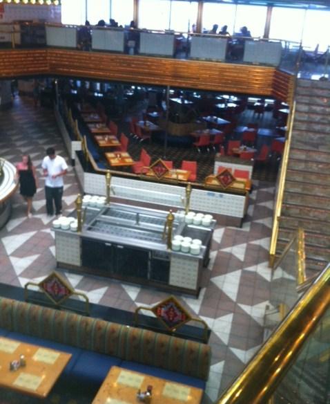 Sun & Sea Restaurant on Carnival Destiny