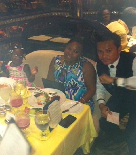 Waiter on Carnival Destiny