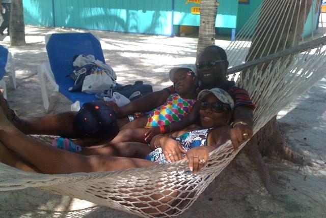 Hammock on Coco Cay