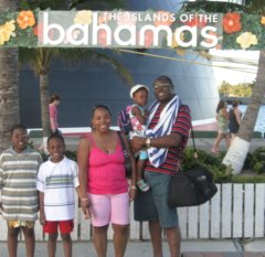 Bahamas Cruise Beach Stop