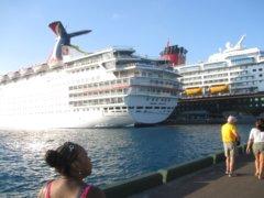 Bahamas Cruise Nassau Harbor