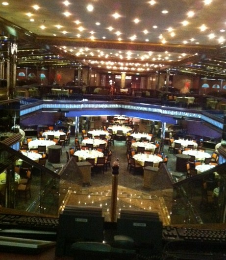Galaxy Dining Room on Carnival Destiny