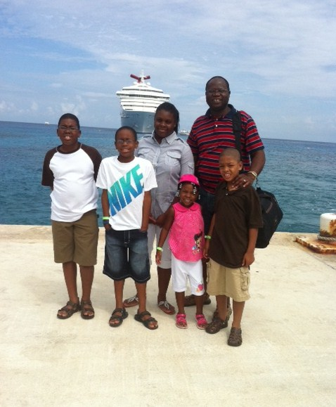 Arriving in Grand Cayman
