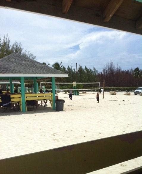 Gazebo at Seven Mile Beach