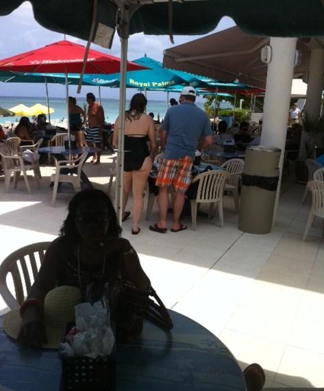 Royal Palms Beach Entrance