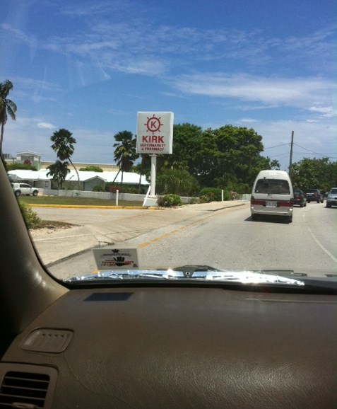 View of Taxi or Coach in Grand Cayman