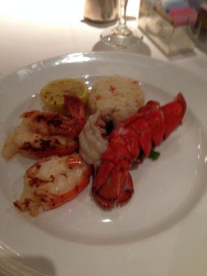 Thanksgiving Dinner - Lobster Tail