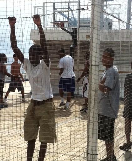 Basketball Court on Carnival Destiny