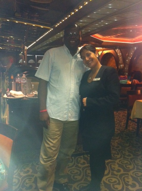 Hostess on Carnival Destiny