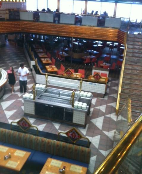 Sun & Sea Restaurant on Carnival Destiny