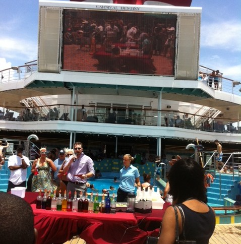 Carnival Destiny Cruise Director