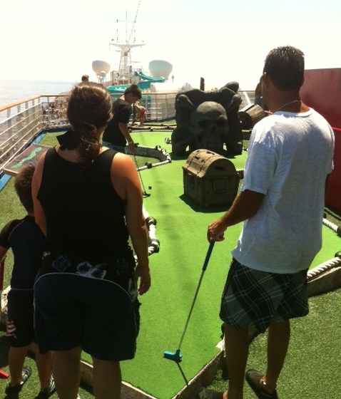 Carnival Destiny Cruise Mini Golf