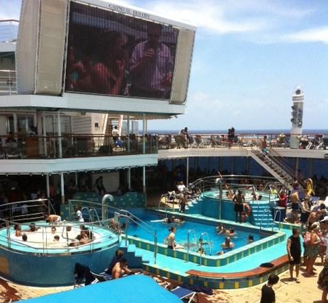 Carnival Destiny Pool Photo