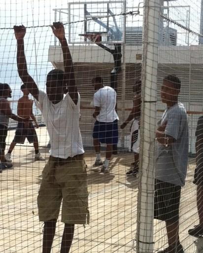 Carnival Destiny Basketball Court