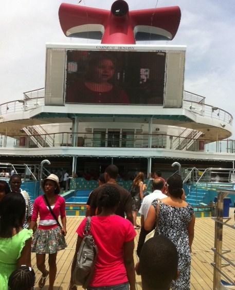 Carnival Destiny Lido Deck