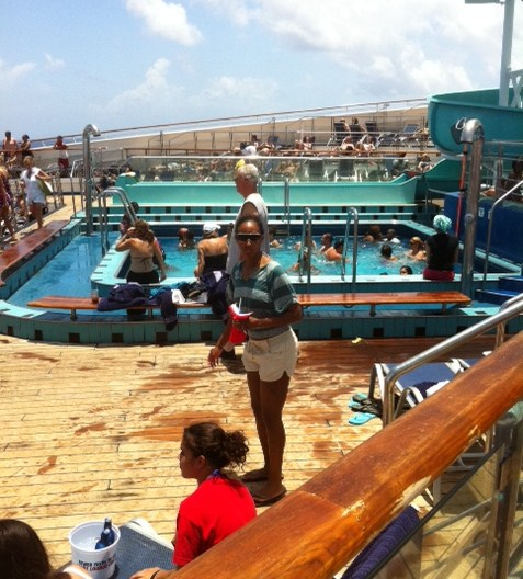 Carnival Destiny Pools