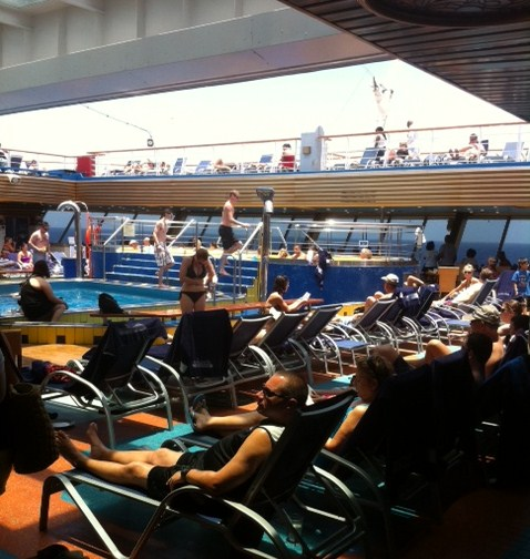 Carnival Destiny Pool
