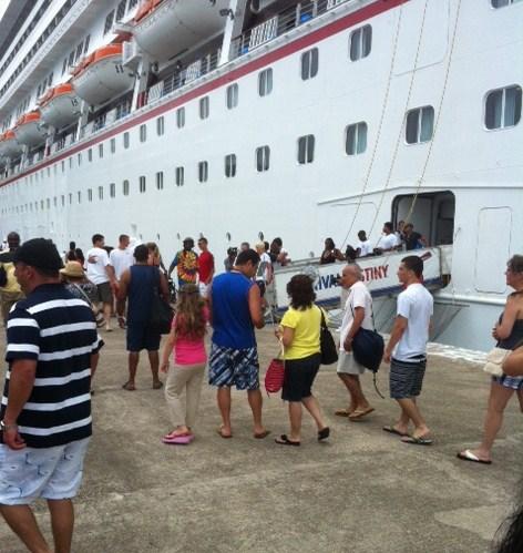 Carnival Destiny in Ocho Rios