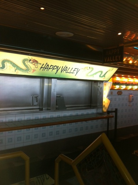 Happy Valley on Carnival Destiny