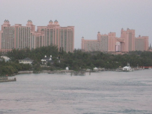 Atlantis from Nassau Harbour