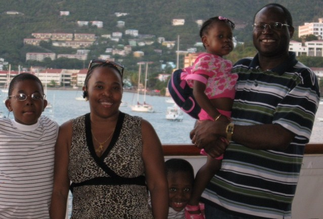 Posing in St. Thomas