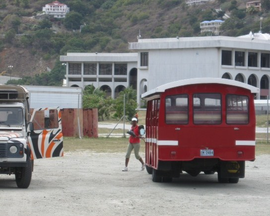 Taxis in Tortola