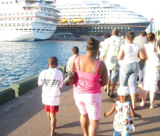 Back to ship in Nassau