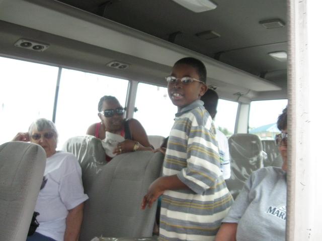 Bus to Street in Nassau