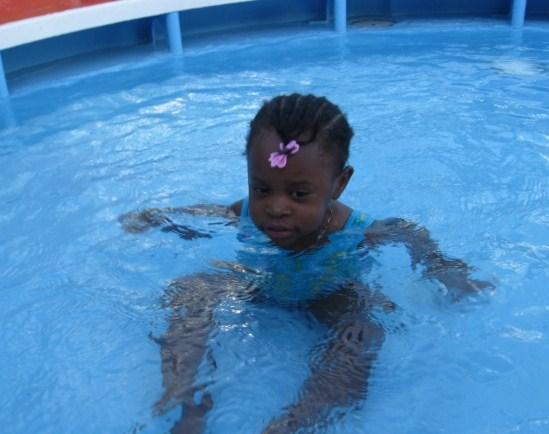 Kiddies Pool on Norwegian Dawn