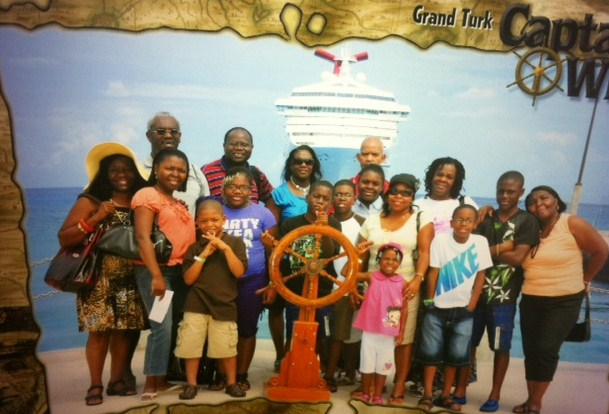 Group Cruise Photo on Carnival Destiny
