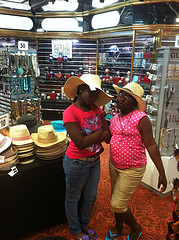 Checking Out Shops on Carnival Paradise