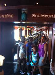 Carnival Boulevard on the Paradise