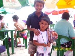 Arriving in Cozumel