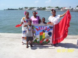 Arriving in Belize City