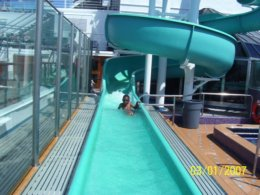 Slide on Carnival Glory