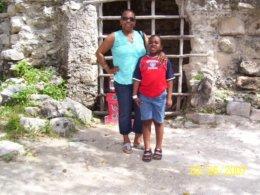 Mayan Ruins in Costa Maya