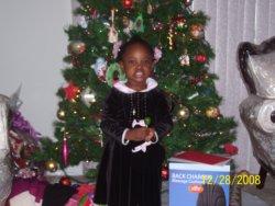 Eliana and Christmas Tree