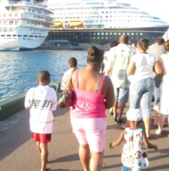 Bahamas Cruise Leaving Nassau