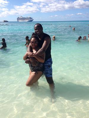 With My Wife on Princess Cays