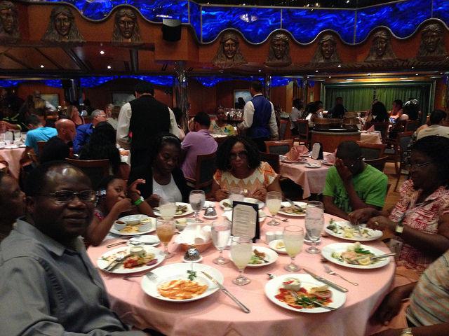 Cruise Food Served On Caribbean Sailings