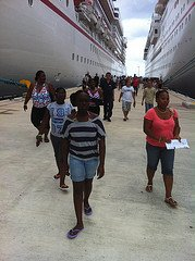 Family Arrives in Cozumel
